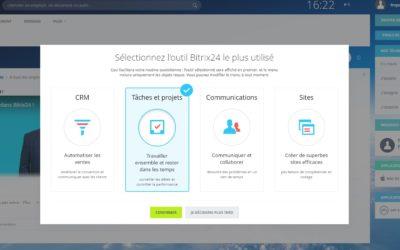 Bitrix24 : un outil complet et gratuit pour la gestion de projet, le suivi du temps, le CRM, la relation client…