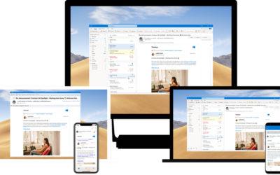 Microsoft va permettre d'interagir avec Yammer directement depuis Outlook