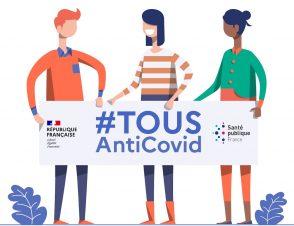 Covid-19 : nouvelle application TousAntiCovid, carte des laboratoires et conseils personnalisés