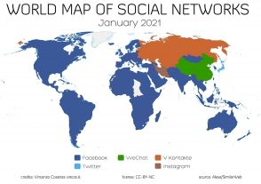 la-carte-des-reseaux-sociaux-les-plus-populaires-en-2021