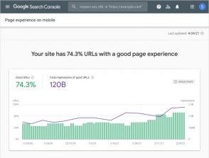 Google ajoute un rapport Page Experience sur Search Console : ce qu'il faut savoir