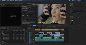 Adobe lance le Speech to Text sur Premiere Pro et le rendu multi-images sur After Effects